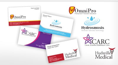 logo snap business cards