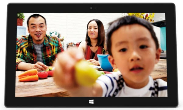 Microsoft Surface camera