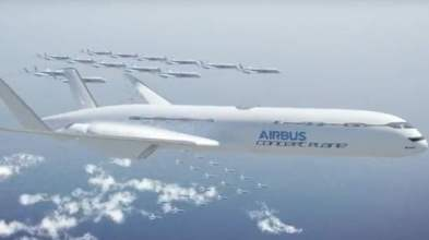 Airbus Smarter Skies Concepts plane