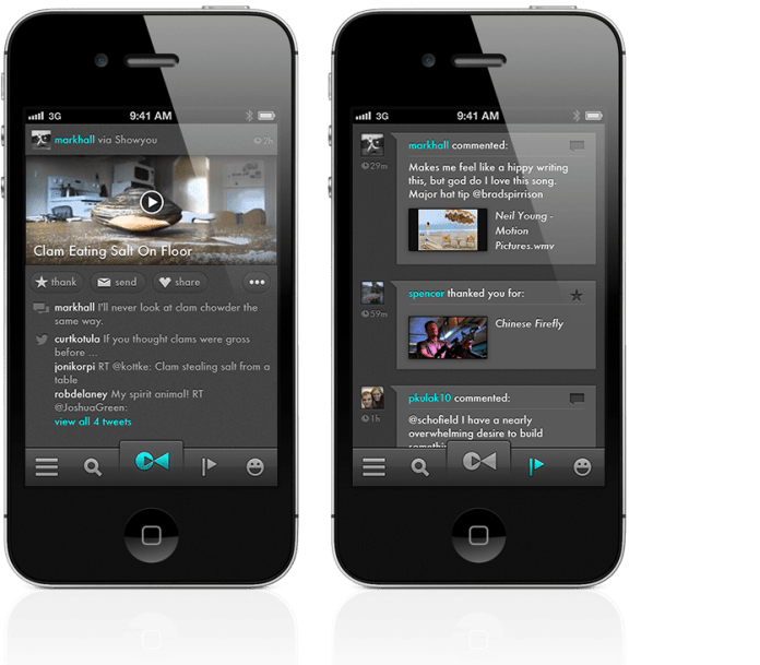 Showyou: a Great Social Video app for your iPhone and iPad 3
