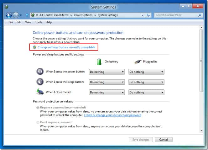 How to enable Hibernation mode in Windows 8 4