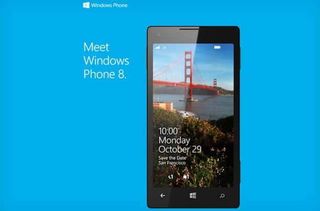 Windows Phone 8 invitation