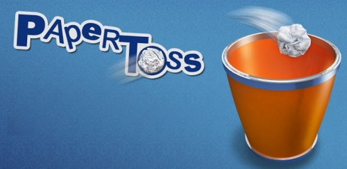 Paper Toss Android Game
