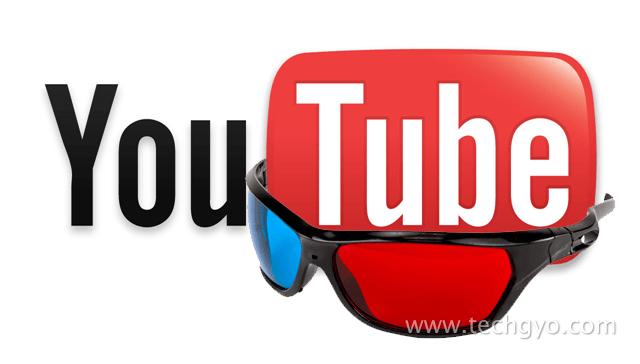 YouTube 3D