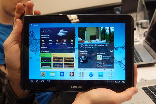 Samsung-galaxy-note-10.1 Gaming tablet