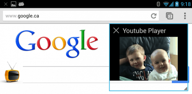 Floating YouTube Popup Video android app
