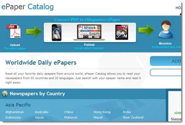 epaper catalog