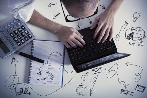 Online business vs broker business