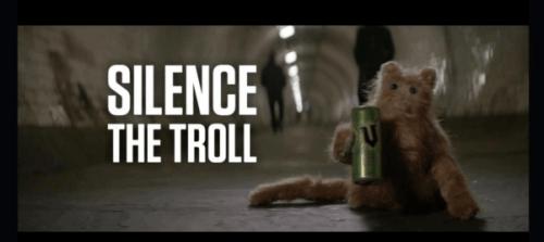 silence is troll V-energy