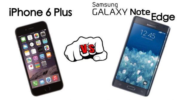 iPhone 6 vs Galaxy note edge