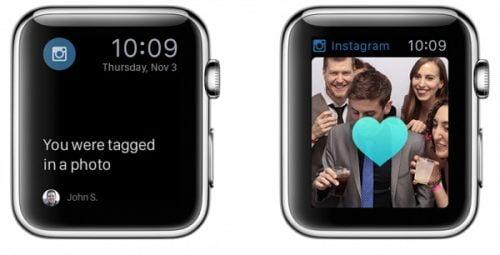 apple watch app for instagram