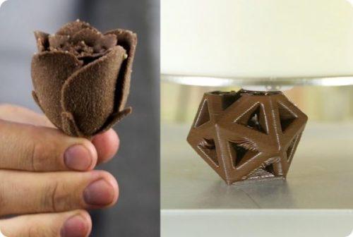 3d printing chocolate