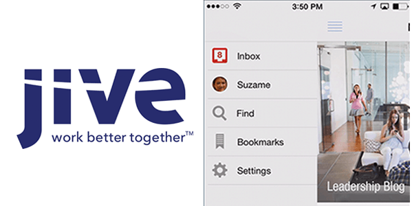 jive chat Enterprise Mobile Apps