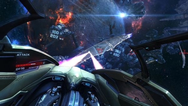 EVE Valkyrie game