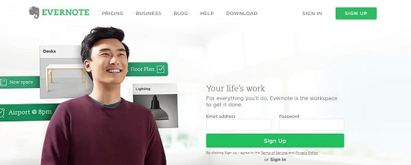 evernote cloud apps for web designers and developers