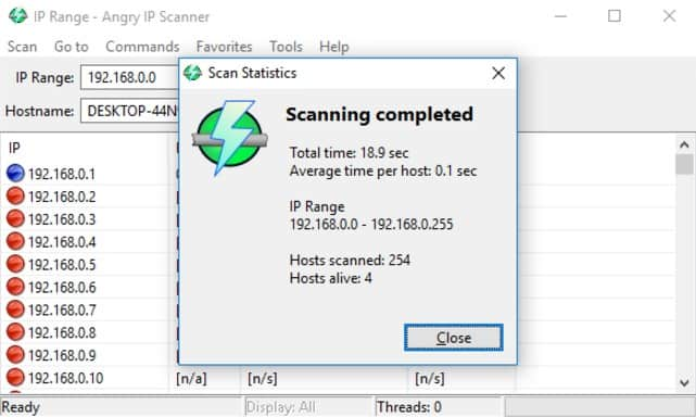 Angry IP Scanner Network Diagnostic.j
