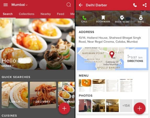 Zomato - Food, Events and Information