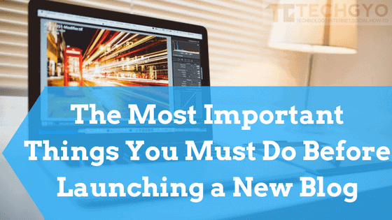 Launching a New Blog