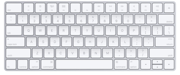 apple keyboard wireless travel gadget
