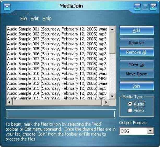 MediaJoin combine merge videos