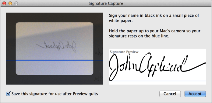 How to Electronically Sign a PDF using Preview on Mac 3