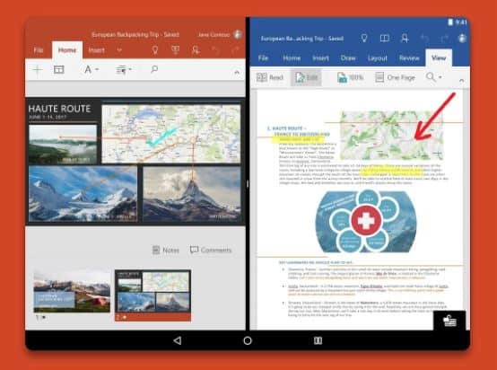 2 microsoft office mobile
