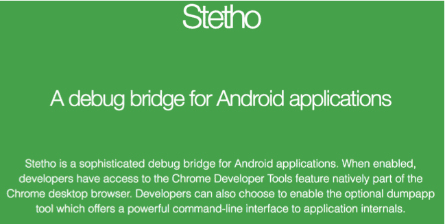 steth android developer tools
