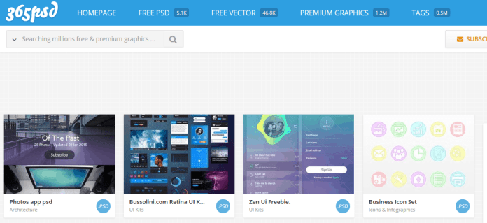Top 12 Sites to Get High Quality Free Design Templates 9