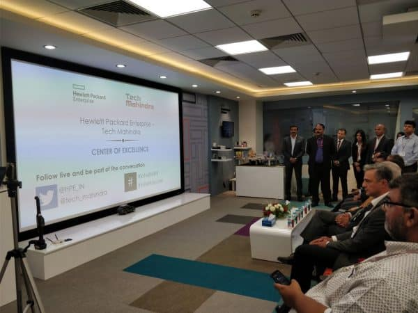 HPE and Tech Mahindra Launches Centre of Excellence for IOT Ecosystem in Bangalore 2