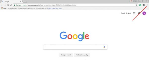 How to change the default search engine in Chrome 7