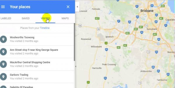 google maps driving directions for travelers