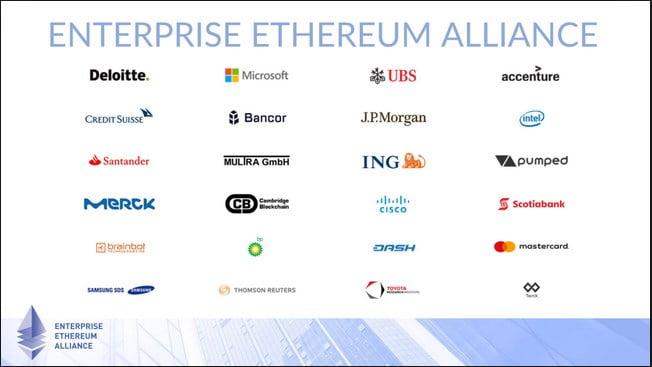 Release of Uniform Standards for Blockchain by Enterprise Ethereum Alliance 7