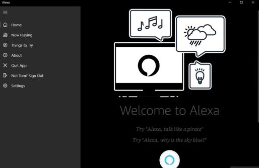 Amazon Launches Alexa App For Windows 10 1