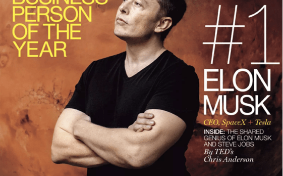 Elon musk on Fortune magazine