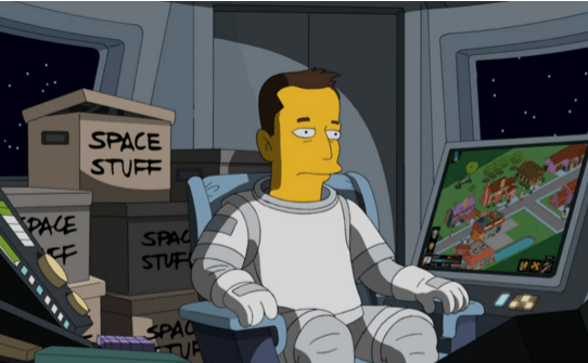 Elon musk cameo in simpsons
