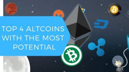 Top 4 Altcoins With the Most Potential 1