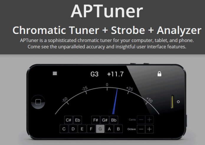 APTuner-Chromatic Tuner