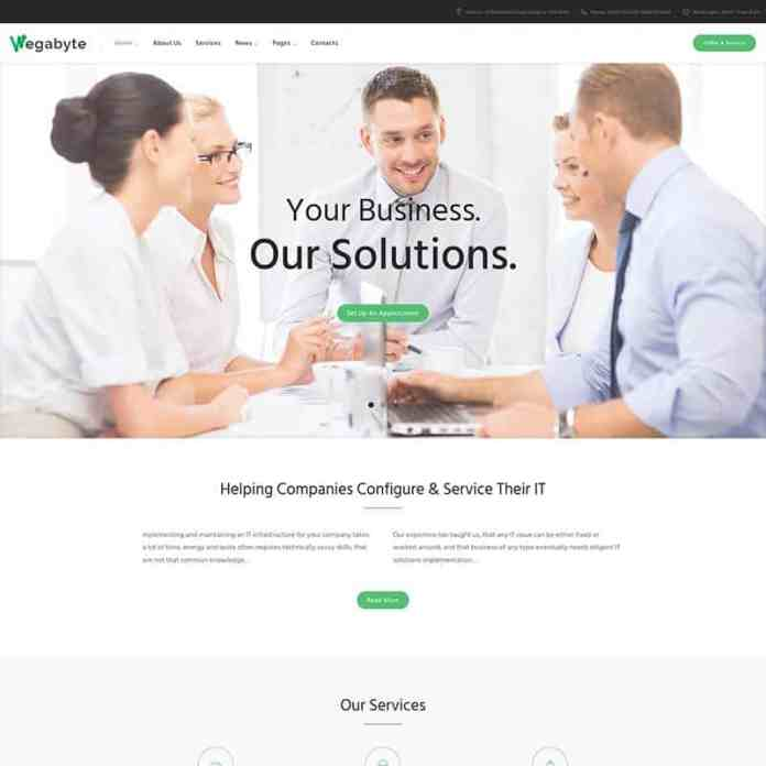 Top 10 WordPress Themes for Startups 3