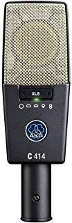 AKG Pro Audio C414 XLS Instrument Condenser Microphone, Multipattern