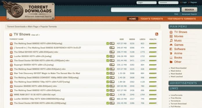 best torrent download sites
