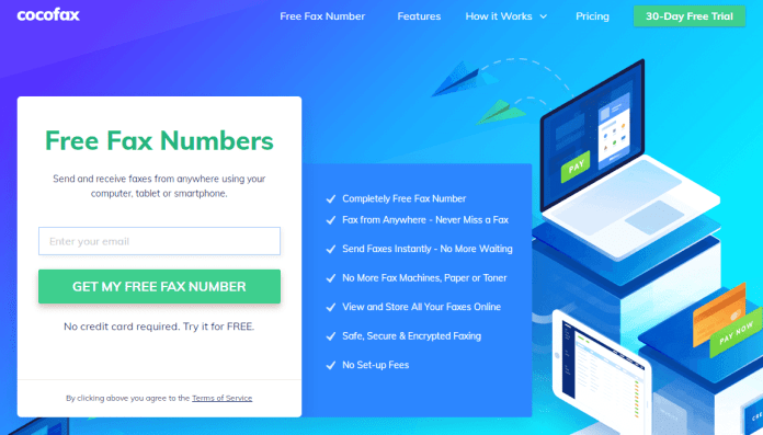 5 Most Fantastic Websites to Send Free Fax On Internet Worldwide 4