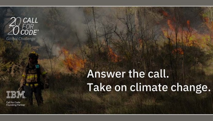 IBM call for code climate change