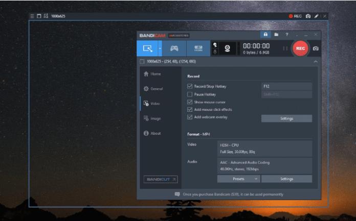 free screen recorder