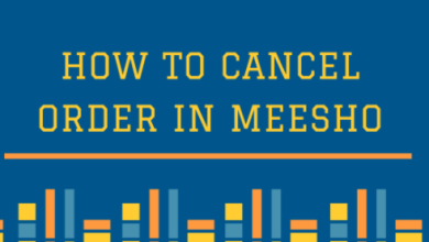 how to cancel order in meesho app