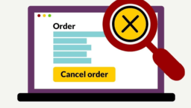 order cancelation on flipkart