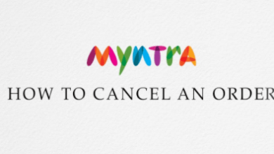 how to cancel product on Myntra