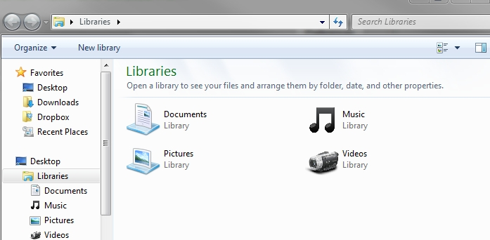 Change Windows 7 Library Icons   Tech Heavy