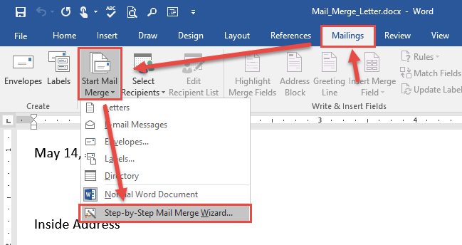 Mail Merge In 10 Easy Steps  U2013 Tech Help Today