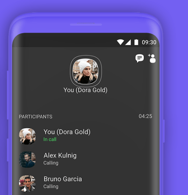 adding other users in ongoing call