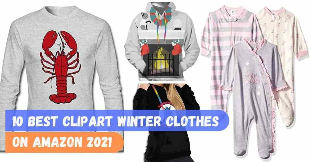 10 Best Clipart Winter Clothes On Amazon